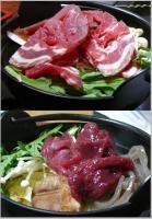 猪鍋&鹿鍋