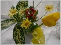 キュートな花束