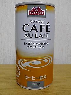 TOPVALU CAFE AU LAIT frontview