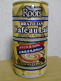 Roots BRAZILIAN Cafe au Lait frontview