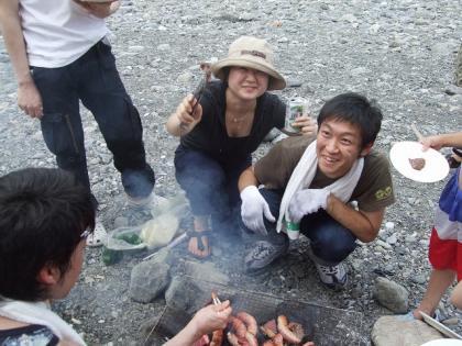 ナカニーと神山君と肉