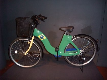 この自転車はアシェーブラジルのサイトでオークションします