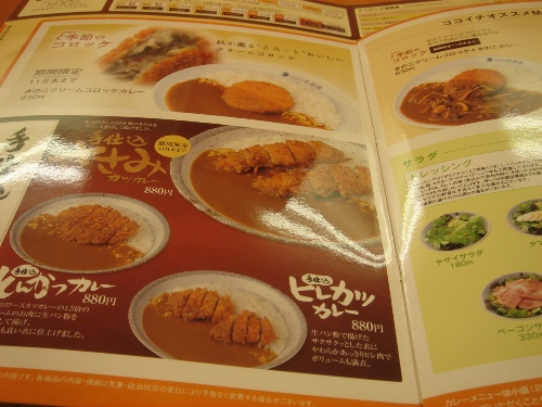 CoCoカレー壱番街 001 cacan