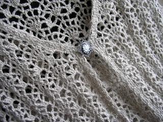 毛糸だま2009 夏号 P.55ロングベスト 襟ぐり