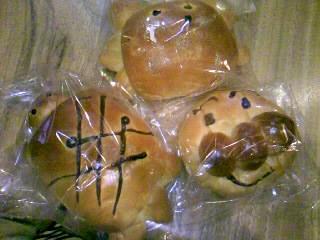 可愛いパンたち♪