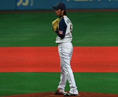 オープン戦京セラ①-2