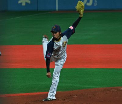 オープン戦京セラ①-4