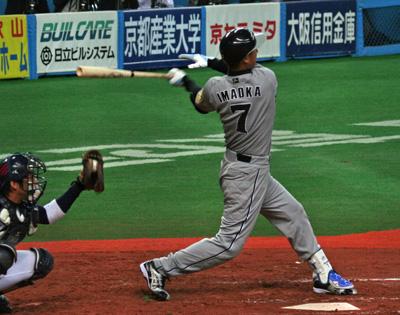 オープン戦京セラ①-9