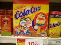 shin chan in cola cao