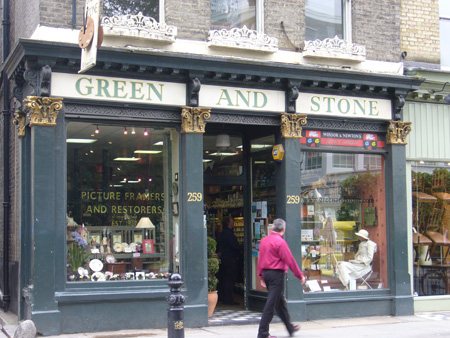 GREEN AND STONE