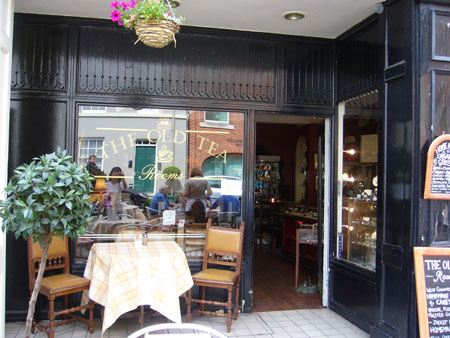 THE OLD TEA rooms