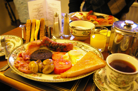 ENGLISH BREAKFAST at BE1