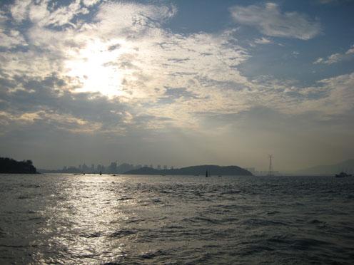 09年4月アモイ225コロンス島からの帰り