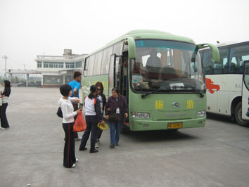 09年4月アモイ259バス