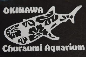 ジンベイザメステッカー(美ら海水族館)