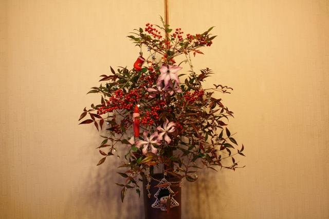 クレマチス & クリスマス