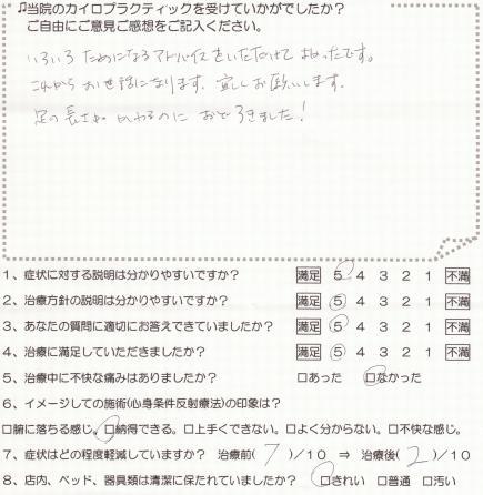カイロ体験談090160