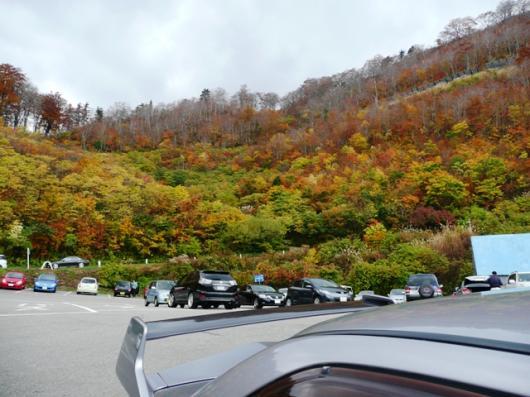 白山スーパー林道 駐車場