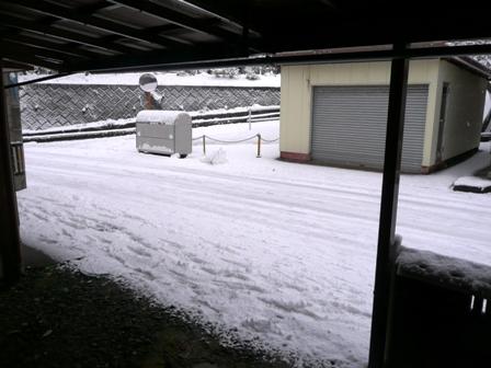 1月16日 積雪