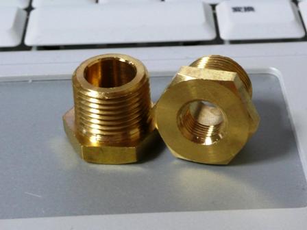 ランエボ4G63油温・油圧センサーアダプター