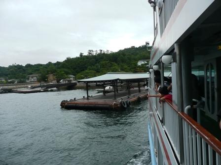 厳島 桟橋