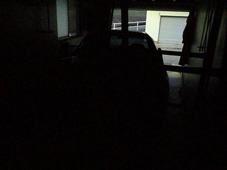 薄暗くなってきて・・・