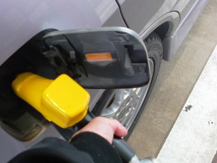 セルフ給油