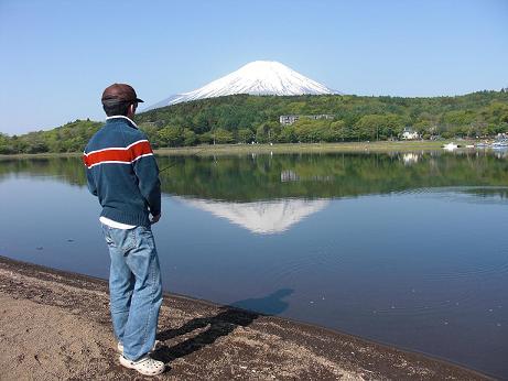 つり(山中湖)2