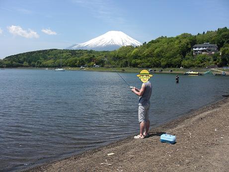 つり(山中湖)6