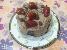 ジャ~ン、ケーキです
