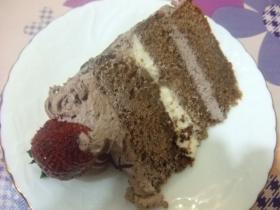 と言う事でやっとケーキ
