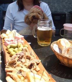 ピカーダとビールだって!