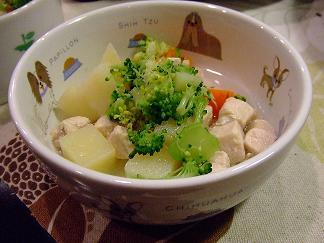 鶏肉とお野菜の煮込み