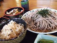 きのこ蕎麦セット