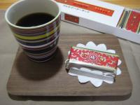 コーヒーとマルセイバターサンド