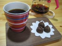 トリュフとコーヒー