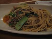 ミンチと緑野菜のフォンヴォー