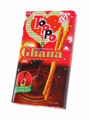 ロッテ--Ghana de Toppo。