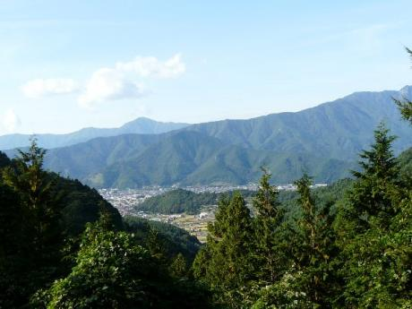杓子山の湧水