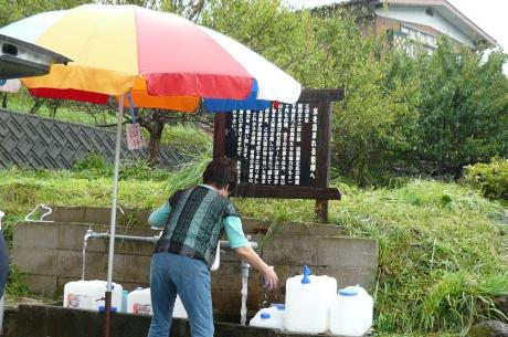 大渡の湧き水