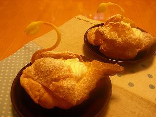 2008.9.25  シュークリーム