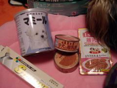 マリと赤ちゃんの食べ物や栄養剤
