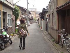 京都の町並みと・・・