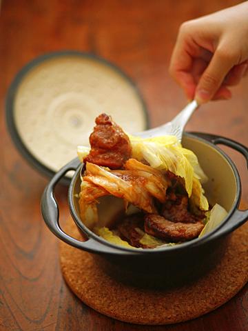 白菜鍋;豚肉ココット