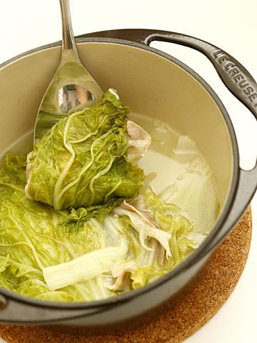 白菜鍋;ベーコン