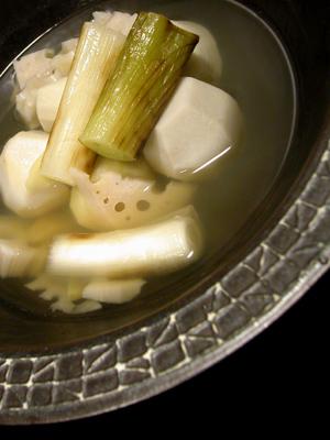 根菜の白煮風スープ
