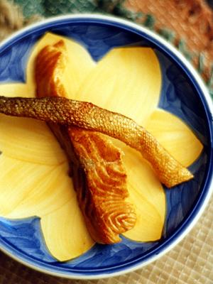焼き鮭(皮&身)