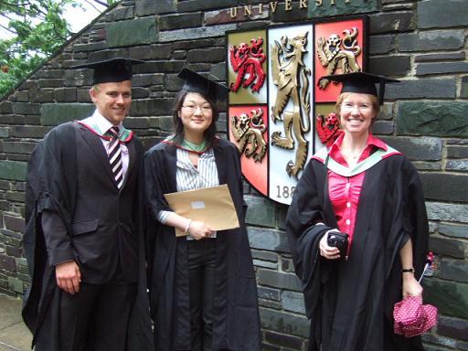 classmates on Graduation