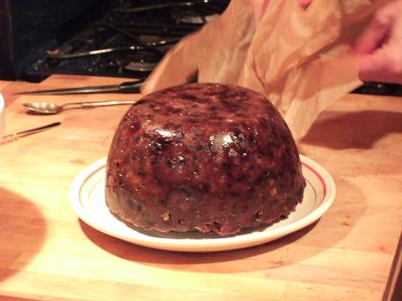 M&H's Christmas pudding