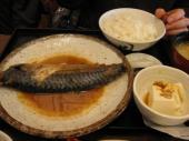 ときわ食堂サバ味噌煮定食